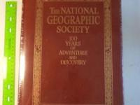 "I am selling ""The National Geographic Society 100 Years"