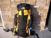 1) Northface Spectrum Pack. Excellant condition. Rarely