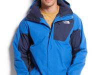This three-in-one jacket from The North Face features a