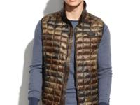 The North Face's camo-print vest is quilted and