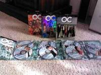 The OC seasons 1, 2 & 3 Used but in original boxes. In