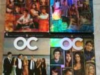 Complete series seasons 1-4 of The OC. Great condition.