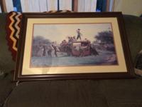 BEAUTIFUL Professionally Framed and Matted Print ---