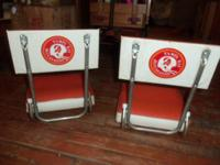 We have 2 of the aged Tampa Bay Rover's folding seat.