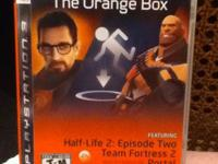 The Orange Box For The Sony Playstation 3. Half Life 2: