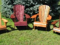 For Sale - New, high quality handcrafted Adirondack