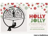 Give the gift of Adventure! Gift Cards to The Outdoor