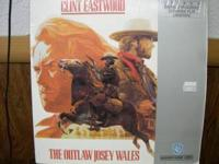 Laserdisc Out Law Josey Wales. Call or text if