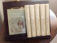 The six volume Jane Austen collection, showed,