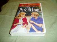 the Parent Trap 1960 Pollyanna. VHS, sealed in it's
