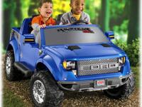 The Power Wheels Ford F-150 Raptor 12-volt