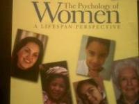 USED TEXTBOOK FOR SALE The Psychology of Women -- A