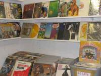 The Record Room has just add more LPs and 45s many tops