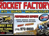 The Rocket Factory has the expertise to Dyno tune your