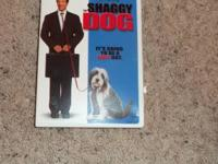 the shaggy dog movie has never been opened. please call