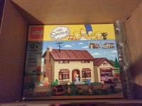Brand-new full unopened Exclusive Simpsons established