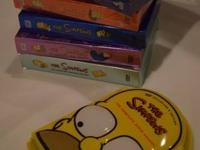The Simpsons season 2-7, ( seasons 5,6,7 unopened)