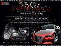The Spot car audio and window tinting  Car alarm's