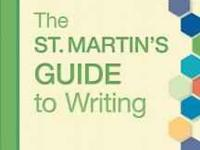 The St. Martin's Guide to Writing Short Edition 9th