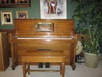 BUILT IN 1982 BY THE AEOLIAN PIANO COMPANY HERE IN THE