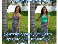 Zig Zag Maxi Skirts are cute, comfortable, and