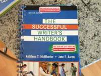 The successful writer's handbook,2nd edition.Item is in