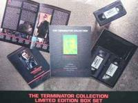 Terminator Collection Limited Edition. Includes the