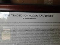 THE TRAGEDY OF ROMEO AND JULIET $400.00 0B0   show