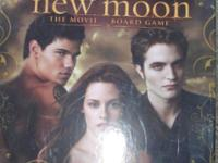 The Twilight Saga NEW MOON The Movie Board Game. New in