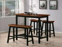 The Tyler Counter Height dining set includes a