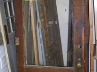 Have some Vintage Doors or shutters, Antique Lighting