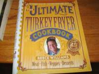 THE ULTIMATE TURKEY FRYER COOK BOOK BRAND