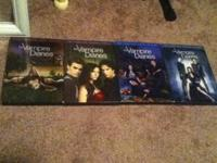 The complete four seasons of the vampire diaries.