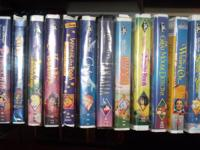 THE VHS DISNEY LOT INCLUDES 12 MOVIES  SWORD IN THE