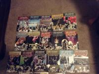 I am offering my walking dead comics volumes 1-16 which