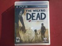 "I am selling my ""The Walking Dead"" game(PS3) for"