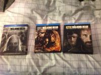 I am selling my like new Blu ray copies of the walking