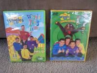 I have for sale two brand new, unopened Wiggles DVDs,
