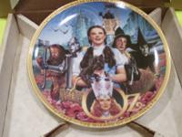This ?Fifty Years of Oz? anniversary plate, issued by