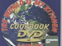 12 Gourmet Cooking Shows on two DVD's. Plus Deluxe