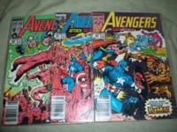 Today we have for you a Lot of 3 of The AVENGERS Marvel