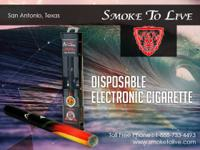 Disposable e-cigarettes from Smoke To Live offer an
