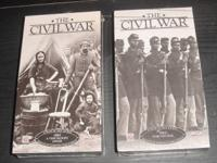 The Civil War 1862-1865 Set of 8 tapes VHS tapes all