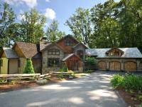 This luxurious lodge home is located in the private,
