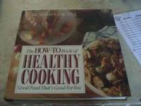 Hardcover edition of the How To Book of Healthy Cooking