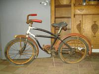 This is a vintage bicycle by The Royal H Cycle. All
