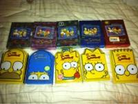 I have boxed sets of The Simpsons, seasons 1-10.