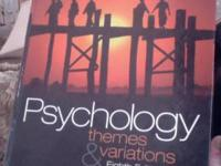 Psychology: Themes and Variations By: Wayne Weiten. It