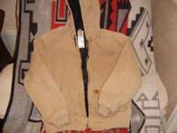 Thermal Lined Jacket, Carhartt, Size: Medium Regular.