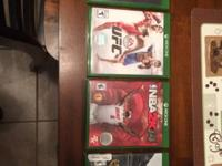 I have Thief, Need for Speed, UFC, and NBA2K14 for Xbox